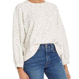 Rosie Leopard-Print Sweatshirt   Bloomingdale's (US)