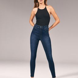 High Rise Super Skinny Jeans   Abercrombie & Fitch US & UK