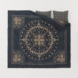 Cotton Duvet Cover Set   H&M (US)