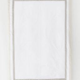 Cotton Satin Duvet Cover   H&M (US)