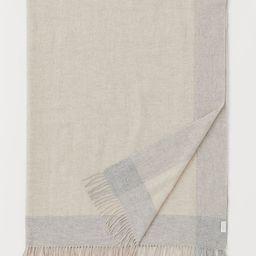 Wool Throw   H&M (US)