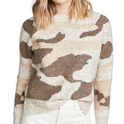 Camo Sweater   Shopbop