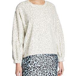Rebecca Minkoff Rosie Leopard-Print Sweatshirt   Neiman Marcus