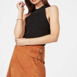 Buckle Detail Skirt | JustFab