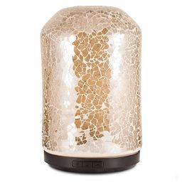 ScentSationals Mosaic Large Lighted Ultrasonic Essential Oil Diffuser in Amber   Bed Bath & Beyond