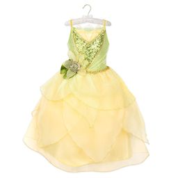 Tiana 10th Anniversary Costume for Kids - The Princess and the Frog   shopDisney   shopDisney