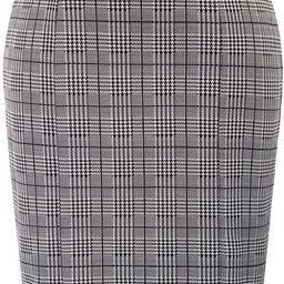 Kate Kasin Womens Elastic Waist Stretch Bodycon Business Pencil Skirt | Amazon (US)