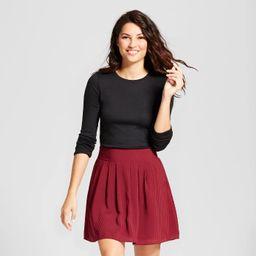 Women's Regular Fit Long Sleeve Crewneck T-Shirt - A New Day™ | Target