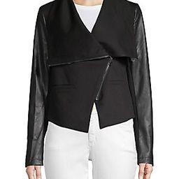 Open-Front Faux Fur Vest   Saks Fifth Avenue OFF 5TH