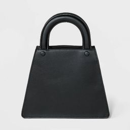 Top Handle Triangle Tote Handbag - A New Day™ Black | Target