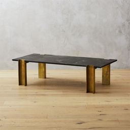 Alcide Rectangular Marble Coffee Table + Reviews | CB2 | CB2