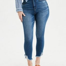 AE Ne(X)t Level Curvy Super High-Waisted Jegging Crop | American Eagle Outfitters (US & CA)