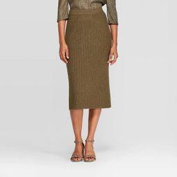 Women's Rib Sweater Skirt - A New Day™   Target