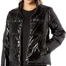 Amazon Brand - Core 10 Women's  High Shine Insulated Puffer Full-Zip Jacket | Amazon (US)