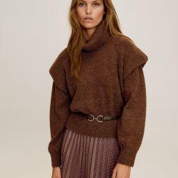 Turtleneck sweater | MANGO (US)