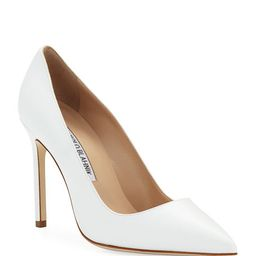 BB Leather 105mm Pump | Neiman Marcus