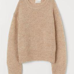 Knit Wool-blend Sweater | H&M (US)