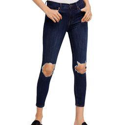 Busted Skinny Jeans in Dark Blue   Bloomingdale's (US)