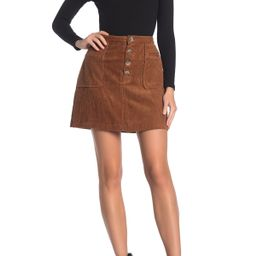 Blu Pepper   Corduroy Patch Pocket Mini Skirt   Nordstrom Rack   Nordstrom Rack