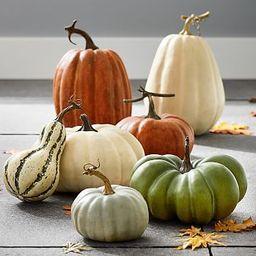 Faux Pumpkins   Pottery Barn (US)