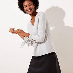 Tie Cuff Sweater | LOFT | LOFT