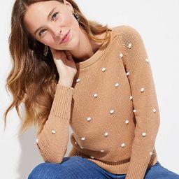 Bobble Stitch Sweater | LOFT | LOFT