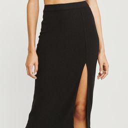 Knit Midi Skirt | Abercrombie & Fitch US & UK