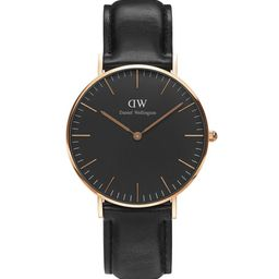 Daniel Wellington 36mm Classic Black Sheffield Watch   Neiman Marcus