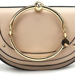 Cute Lune Shoulder Bags Ring Handbags for Women Phone Wallet Shell Purse For Girls | Amazon (US)