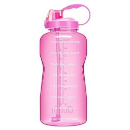 QuiFit Gallon Water Bottle with Straw and Motivational Time Marker BPA Free Reusable Large Capaci... | Amazon (US)