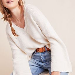 Maggie Bell-Sleeved Sweater | Anthropologie (US)