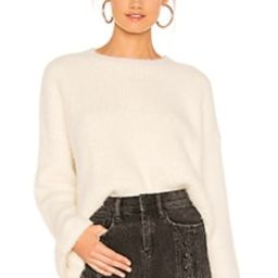 superdown Jessie Fuzzy Sweater in Cream from Revolve.com | Revolve Clothing (Global)