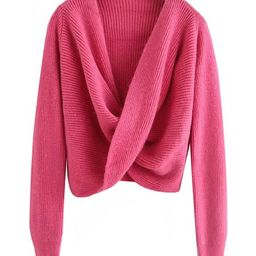 'Haku' Twisted Front Sweater (4 Colors) | Goodnight Macaroon