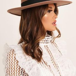 Brown Fedora Hat | I Saw It First