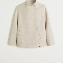 Lapels wool coat | MANGO (US)