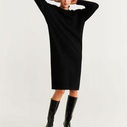 Ribbed jersey dress | MANGO (US)