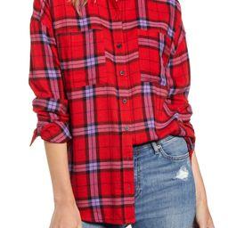 Plaid Boyfriend Shirt   Nordstrom