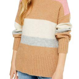 Supersoft Stripe Crewneck Sweater   Nordstrom