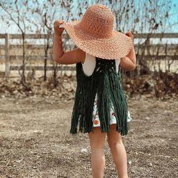 Boho Fringe Vest - Layering Piece - Fall Fashion | Etsy (US)