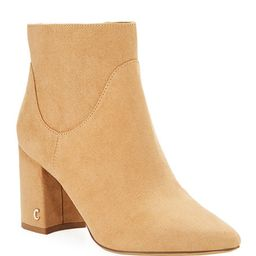 CIRCUS BY SAM EDELMAN Hadden Faux-Suede Zip Booties | Lastcall
