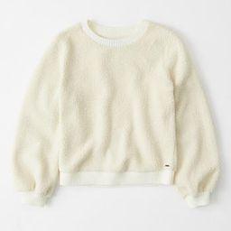 Sherpa Crewneck Sweatshirt | Abercrombie & Fitch US & UK