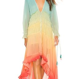 High Low Dress in Rainbow | Revolve Clothing (Global)