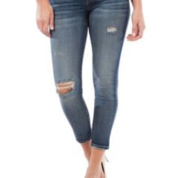 Donna Ripped & Distressed Ankle Skinny Jeans   Nordstrom