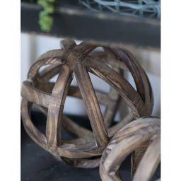 "Decorative Wood Ball (10"") - A&B Home | Target"
