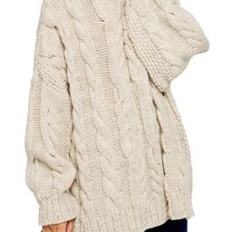 Chunky Cable Turtleneck Sweater | Nordstrom