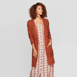 Women's Long Sleeve Open Neck Cardigan - Universal Thread™   Target