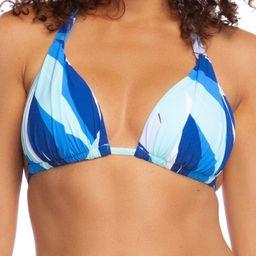 Palm Reader Halter Triangle Bikini Top | Nordstrom