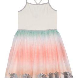 Ombré Unicorn Boarder Dress | Nordstrom