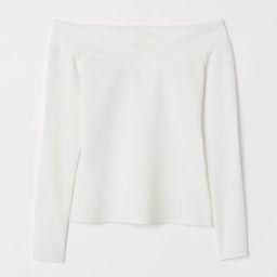 Off-the-shoulder Top   H&M (US)