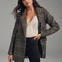Wool-Blend Blazer Coat | Abercrombie & Fitch US & UK